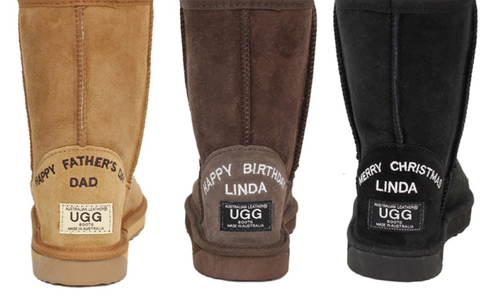 245070f361f Up To 59% Off Personalised UGG Boots | Groupon