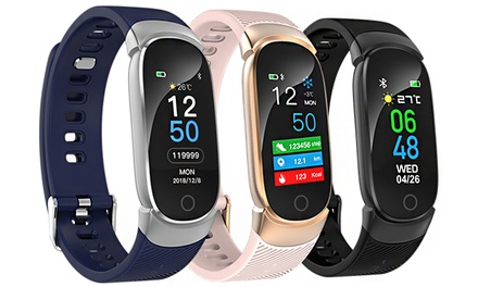 Fitness Tracker with Heart Rate, Blood Pressure and Pedometer: One $29.95 or Two $56.95