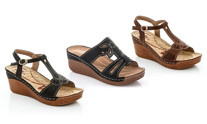 430d6e82e2fd3 Up To 53% Off on Lady Godiva Women s Sandals