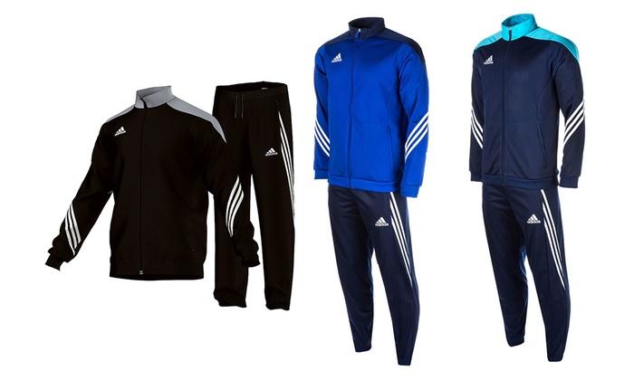 Salvador company: Survêtement Adidas Performance, taille et modèle au choix à 39,99€ (50% de réduction), livraison offerte