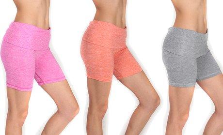 Women's Spacedye Waistband Shorts