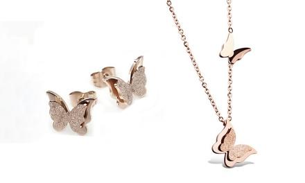 Collar y/o pendientes Van Amstel modelo Milena