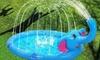 Sprinkler Splash Paddling Pool
