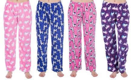 Two Girls Printed Pyjama Bottoms