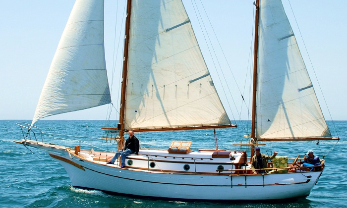 Free Spirit Sailing Adventures - Marina del Rey: Two-Hour Sailboat Cruise for One, Two, or Six at Free Spirit Sailing Adventures (Up to 70% Off)