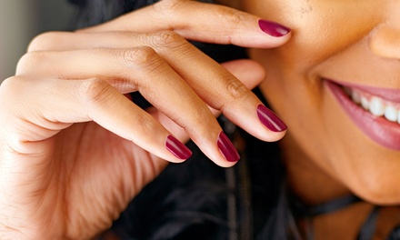 Basic or Luxury Shellac Manicure at Amor Vitae Spa (Up to 53% Off)