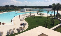 Salento: soggiorno di 7 notti per 1 persona con pensione completa, bevande incluse al Villaggio Club La Brunese