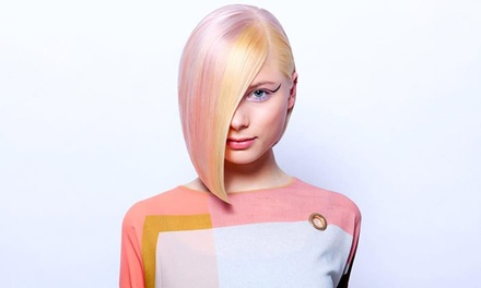 Haircut, Blow-Dry, Deep Conditioning with Color Treatments at Spacagna Italian Hair Design (Up to 45% Off)