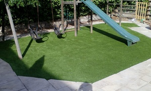 Forest Grass: 25mm Artificial Grass with Installation from R1 699 with Forest Grass (Up to 49% Off)