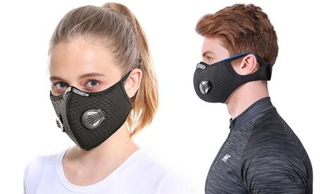 Hasta 5 mascarillas con 1, 2 o 5 filtros de carbón activado