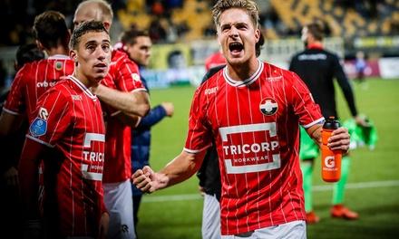 Ticket voor de eredivisiewedstrijd Willem II Heracles Almelo op 2 dec. 2017 in het stadion van Willem II in Tilburg