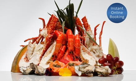 Seafood Platter with Sides and Wine for Two $159 or Four Ppl $318 at Lagoon Seafood Restaurant Up to $490 Value