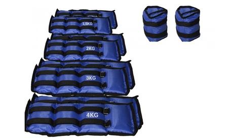Pesas flexibles para tobillo y muñeca desde 1,5 hasta 4 kg Oferta en Groupon