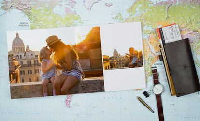 image for Layflat Hardcover Photo Books from Photobook Canada (Up to 88% Off)