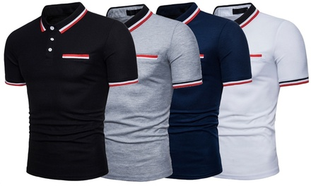 Men's Hudson Mock Pocket Polo Shirt