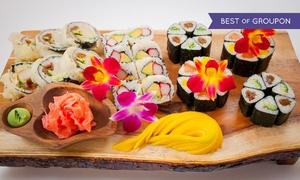 Japan Sun Sushi & Grill: Wybrany zestaw sushi: 32 kawałki za 59,99 zł i więcej w Japan Sun Sushi & Grill w Rybniku (do -41%)