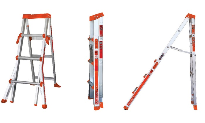 Little Giant QuickStep Adjustable Stepladder Little Giant QuickStep Adjustable Stepladder ...  sc 1 st  Groupon & 10% Off on Little Giant Stepladder | Groupon Goods islam-shia.org
