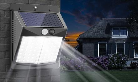 1 o 2 luces solares LED con sensor de movimiento