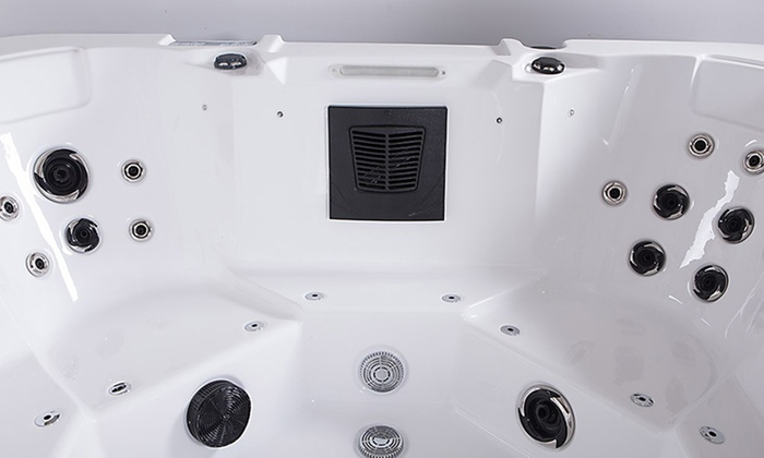 Home Deluxe Outdoor Whirlpool Groupon