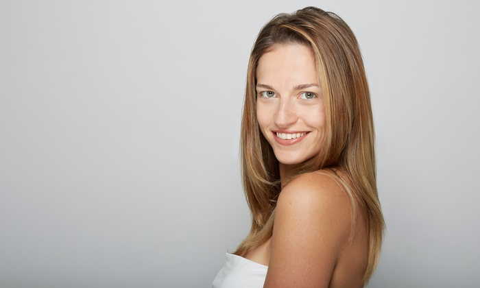 Julie at Jia Salon and Spa - Woodward Park: A Women's Haircut from Jia Salon and Spa (56% Off)
