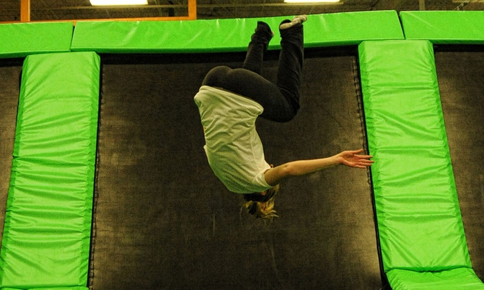 airmaxx trampoline park - up to 19  off