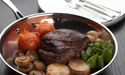 image for Chateaubriand, Prawn Skewers and Sparkling Wine for Two or Four at Bo'Vine (42% Off)