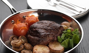 Bo Vine: Prime Fillet Steak and Cocktails for Two or Four at Bo Vine (Up to 43% Off)