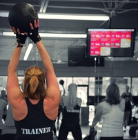 Ten Heart-Rate Fitness Classes or Unlimited Training for 21-Days at Ladies Workout Asheville (Up to 78% Off)