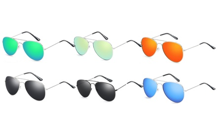 One or Two Pairs of Aviator Style Sunglasses