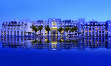 Abu Dhabi: 1 Night All Inclusive Stay for Two at 5* Anantara Eastern Mangroves Abu Dhabi Hotel