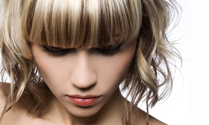 Teaz It Up Hair Studio - Ericka - Cooley Ranch: Haircut and Deep Conditioning with Partial or Full Highlights at Teaz It Up Hair Studio - Ericka (Up to 63% Off)