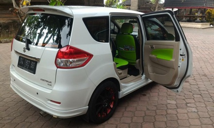 Bali: 6 or 8Hour Minivan Hire with Private Driver for Two Up to Five People with Bali Sun Tours