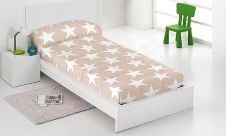 Edredones ajustables del diseñador Javier Larrainzar para camas de 90cm