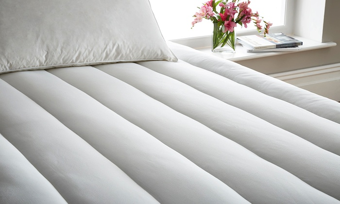 Feels Like Down Hollow Fibre Topper with Optional Pillows from £8.99