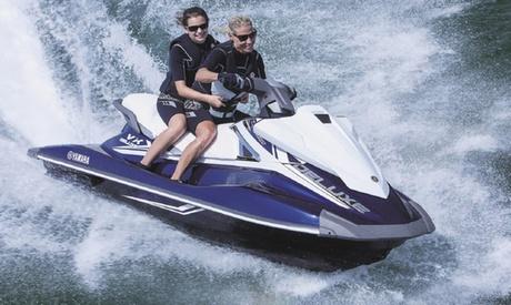 Excursión guiada en moto acuática para 1 o 2 personas en Valencia desde 59 € en Fun & Quads Adventure