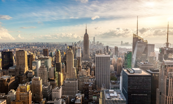 attracions4us - New York: Three-Course Meal at Señor Frog's and Midtown and Times Square Walking Tour from Attractions4us (Up to 34% Off)