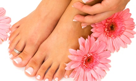 One or Three OPI Green-Tea Spa Pedicures at Facial Nails Salon (Up to 53% Off)