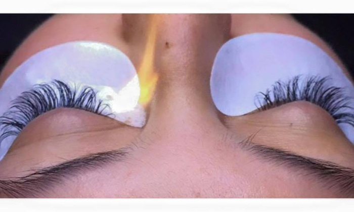 There She Glows - There She Glows: Full Set of Eyelash Extensions at There She Glows (51% Off)