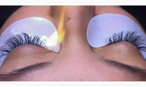 There She Glows: Full Set of Eyelash Extensions at There She Glows (51% Off)