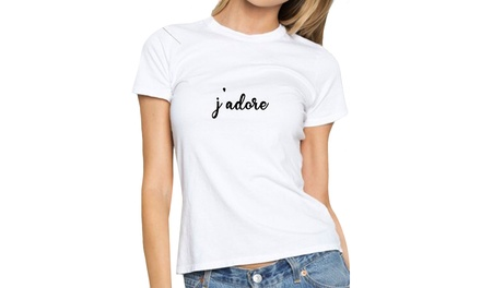 Jadore Fitted T-Shirt