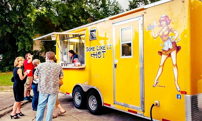 Some Like It Hot Food Truck - Broadmoor, Anderson Island, Shreve Isle: $125 for On-Location Catering for 10 from Some Like It Hot Food Truck ($200 Value)