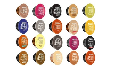 Variety Packs of Coffee and Tea for Dolce Gusto