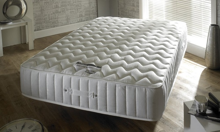 Happy Beds Imperial 3500 Memory Foam and Pocket Sprung Mattress With Free Delivery From £169