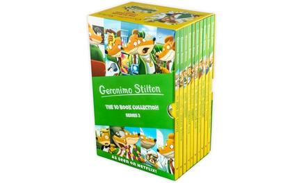 Geronimo Stilton 10-Book Set