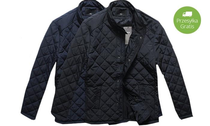 169c1712b6cf4 Pikowane kurtki męskie: 2 kolory | Groupon