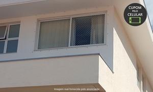 A Proatec: Rede de proteção para janelas e sacadas de 5 ou 10 metros na A Proatec - Guará