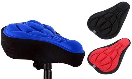 1, 2 o 3 fundas de asiento de bicicleta de gel 3D