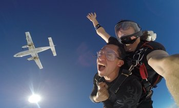 Up to 15,000ft Tandem Skydive