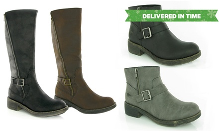 rocket dog tanker and thyme boots