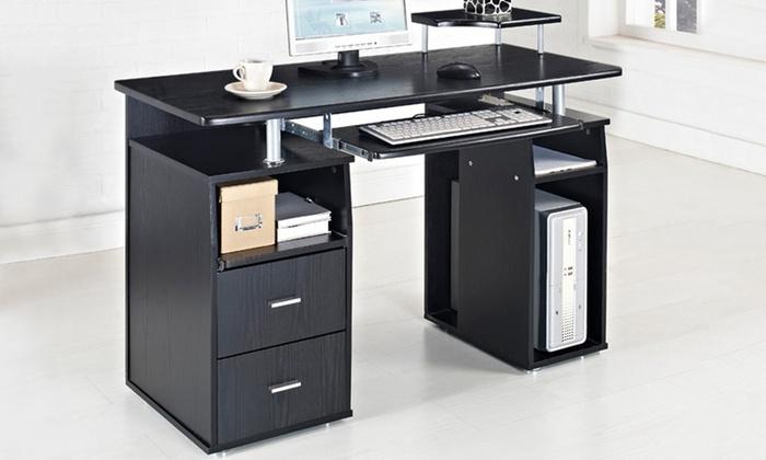 computer tisch groupon goods. Black Bedroom Furniture Sets. Home Design Ideas